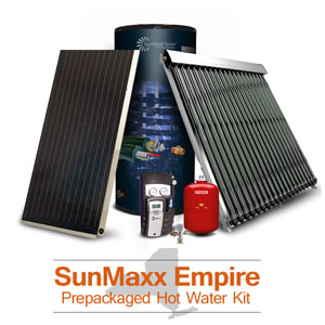 New York Solar Hot Water & Heating Kits