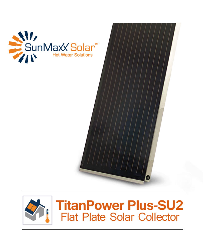 TitanPower Flat Plate Solar Collectors