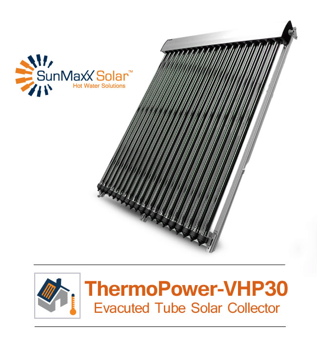 ThermoPower Evacuated Tube Solar Collectors