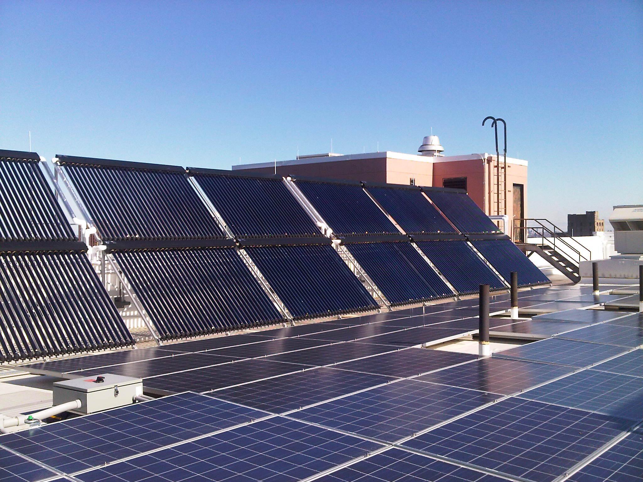 NJIT solar array