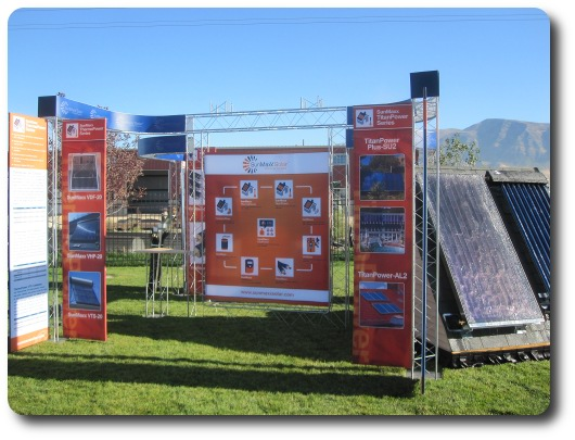 Utah Solar Tour Features SunMaxx Solar Thermal