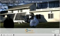 Dr. Benham Solar Thermal System On His Home